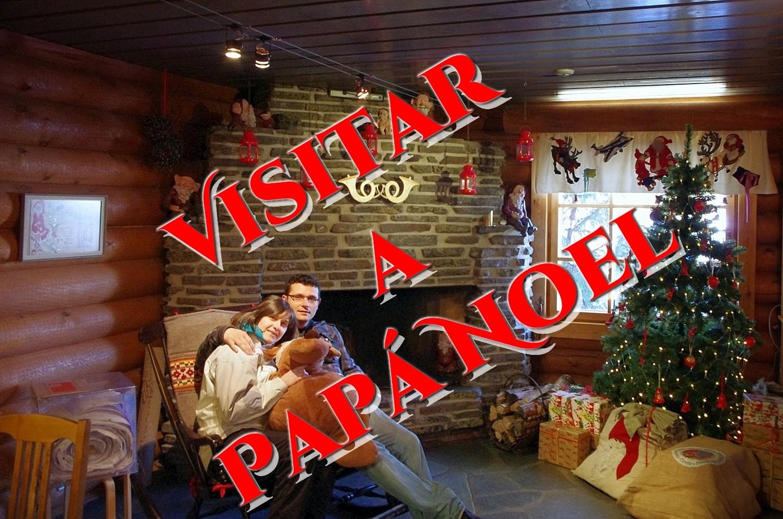 Visitar a Papá Noel en Laponia